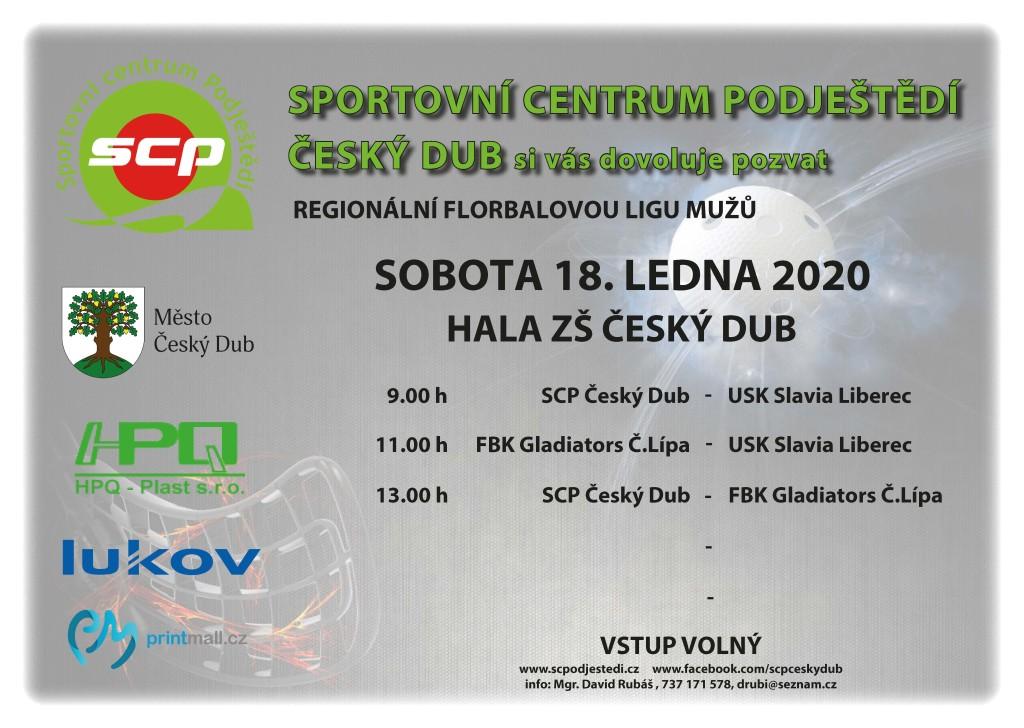 plakat - turnaj áčko 18.1.2020